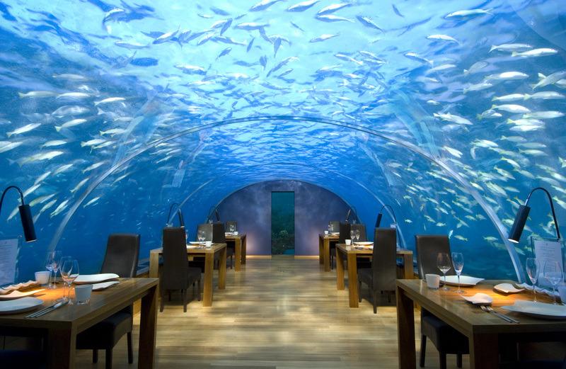Underwater Restaurant, The Maldives