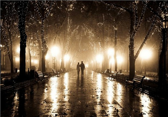 Rainy Night, Odessa, Ukraine