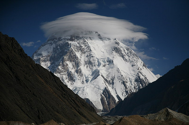 K2 is the second-highest mountain on Earth, after Mount Everest with a peak elevation of 8,611 m. K2 is part of the Karakoram Range, at the border between Pakistan and...