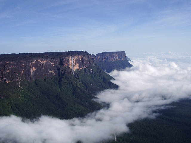 Roraima Tepui or Mount Roraima is the highest of the Pakaraima chain of tepui plateau in South America. It was first described by the English explorer Sir Walter Raleigh...