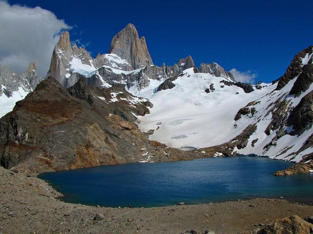 Laguna de Los Tres & Mount Fitz Roy - Patagonia, Argentina.