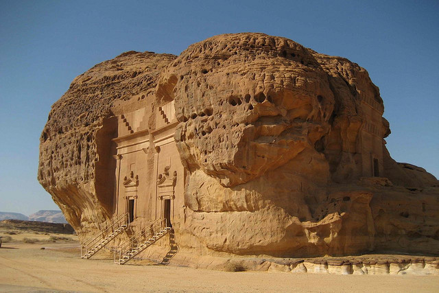 by EVITAS WEBFOTOS on Flickr.Mada'in Saleh is a pre-Islamic archaeological site located in Al Madinah Region of Saudi Arabia. A majority of the vestiges date from the Nabatean kingdom. The site...