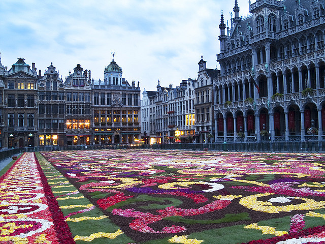 by Bill M on Flickr.Grand Place - Brussels, Belgium.