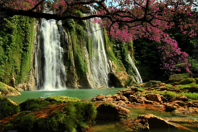 by mas Ivan on Flickr.Cikaso Waterfall - Western Java, Indonesia.