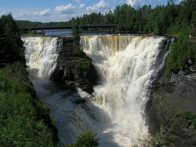 by Rob W #37 on Flickr.Kakabeka Falls is a waterfall on the Kaministiquia River, - Ontario, Canada.