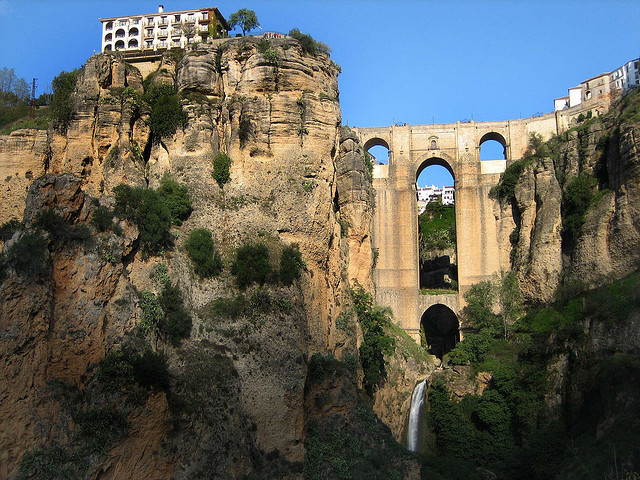 by johnny_clash55 on Flickr.Puente Viejo in the city of Ronda - province of Malaga, Spain.