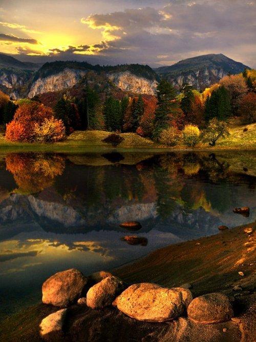 Early Autumn Lake, Bulgaria