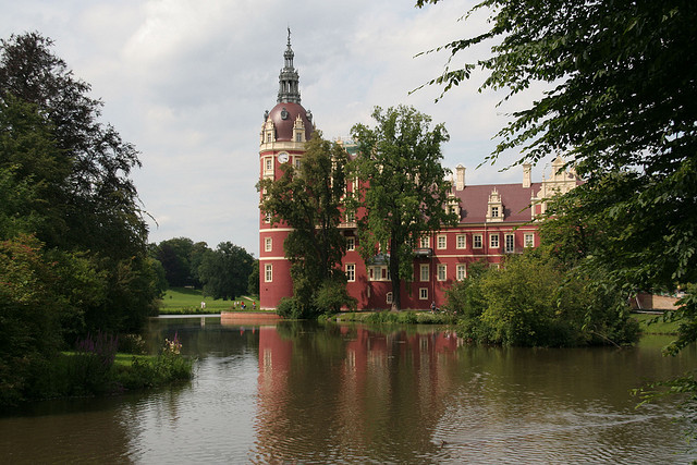 by Klaus Bruck on Flickr.Bad Muskau is a spa town in the historic Upper Lusatia region in Germany at the border with Poland. The municipality comprises the western half of the famous Muskau Park, a...