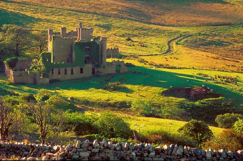 Medieval Beauty, Clifden Castle, Ireland
