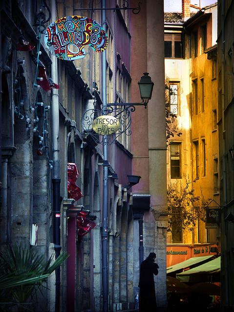 Side Street, Lyon, France