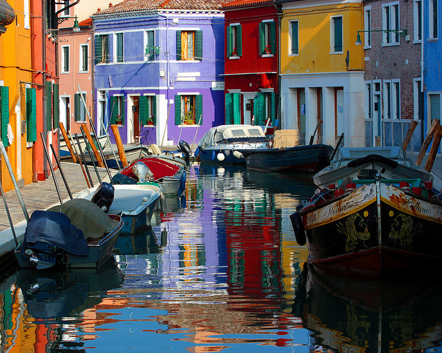 by Mario Amato on Flickr.The colourful Burano in the Venetian Lagoon, northern Italy.