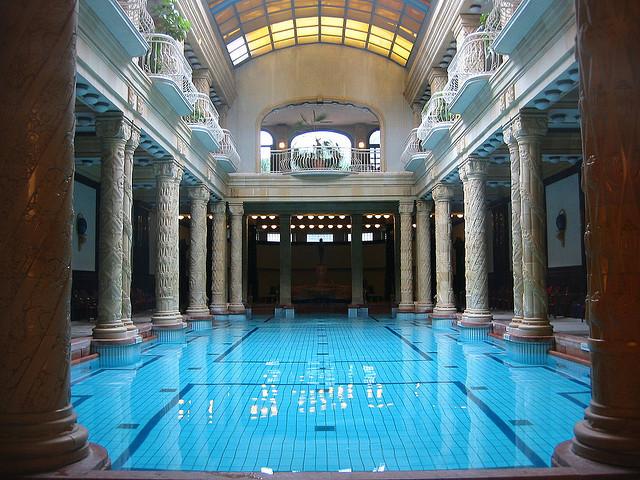by paula soler-moya on Flickr.The Gellert Baths in Budapest, Hungary.