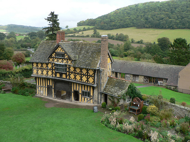 by johnmuk on Flickr.Stokesay Castle is a fortified manor house in southern Shropshire, England.