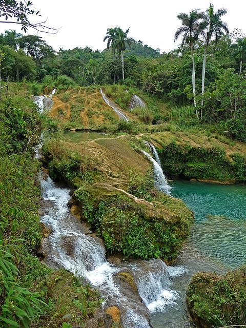 Cascada del Nicho in Sierra del Escambray, Cuba