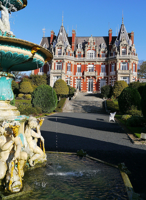 Chateau Impney in Worcestershire, England