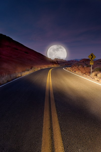 Moon Road, Tucson, Arizona