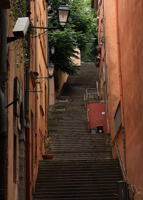 Rue de la Loge, Vieux Lyon, France
