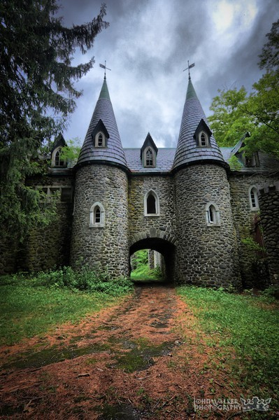 Ravenloft Castle, Upstate New York.