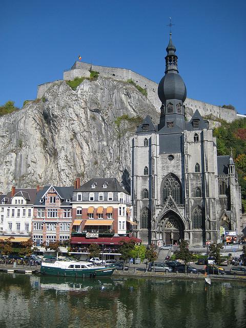The Collegiate Church of Notre-Dame in Dinant, Belgium