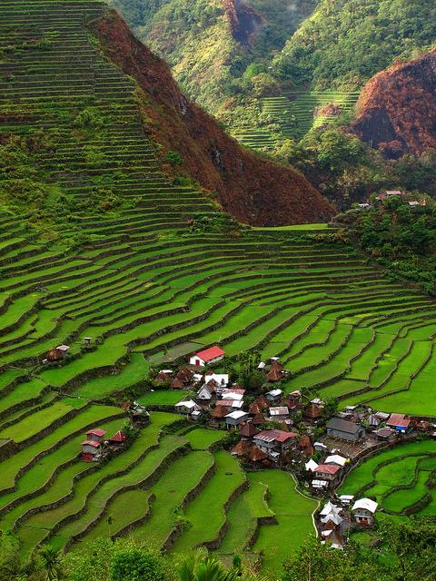 Batad Rice Terraces in Ifugao Province, Philippines