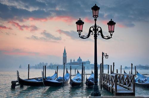 Dawn, Venice, Italy