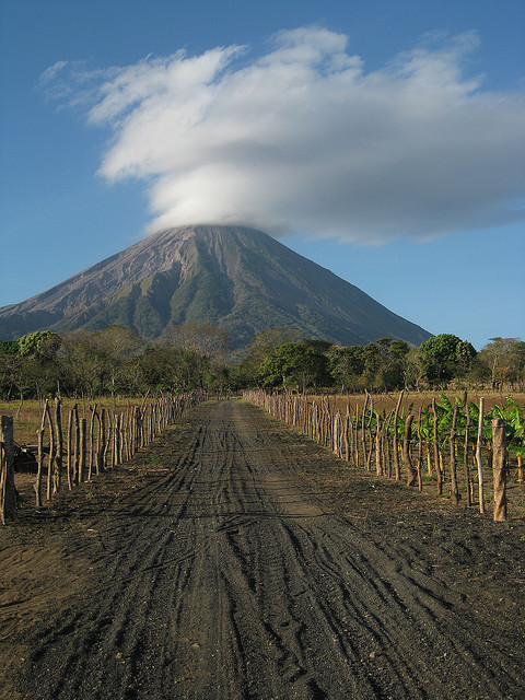 Volcan Concepcion from Charco Verde, Nicaragua