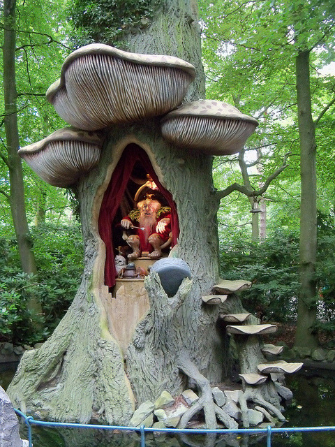 The Troll King in Efteling Theme Park, Kaatsheuvel, Netherlands