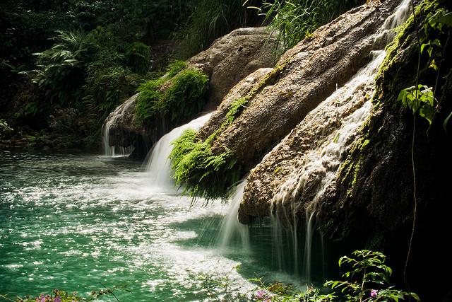 El Nicho Waterfalls in Sierra de Trinidad mountains, Cuba