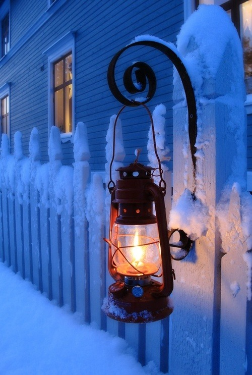 Snow Lantern, Madison, Wisconsin