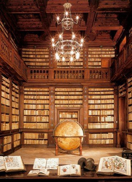 Fermo Public Library, Marche, Italy