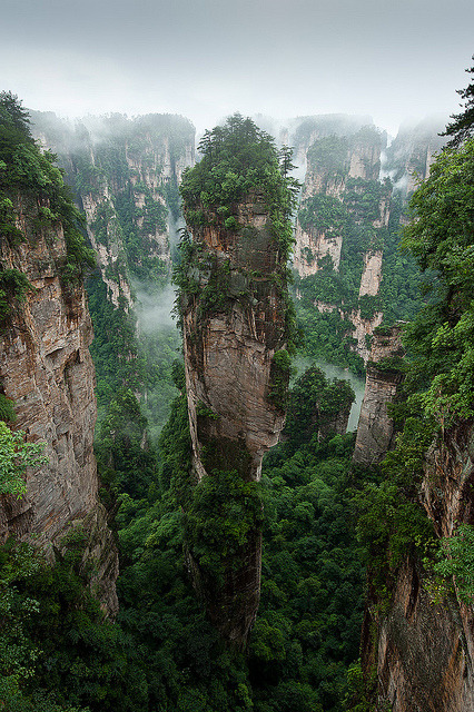 The Gathering of Heavenly Soldiers, Zhangjiajie National Forest Park, China