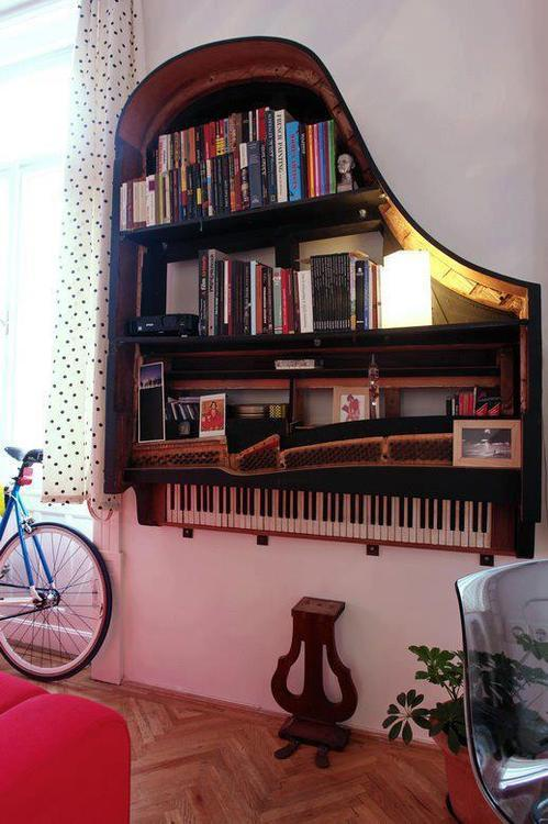 Piano Bookcase, Los Angeles, California