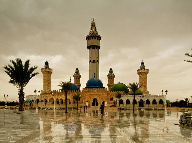 The Grand Mosque in Touba, Senegal