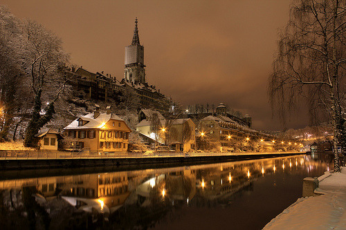 Winter's Night, Bern, Switzerland