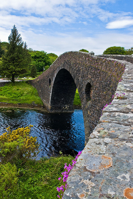 Atlantic Bridge detail in Seil, Scotland