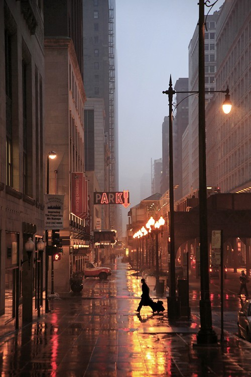 Rainy Night, New York City