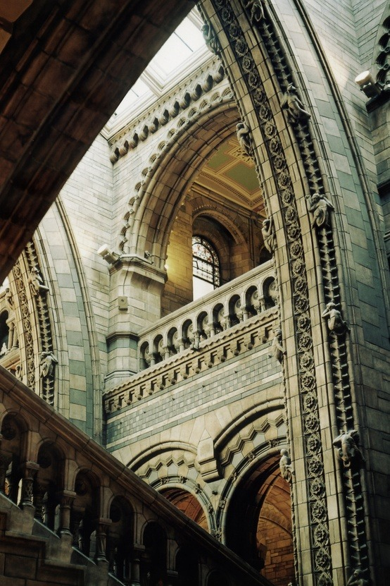 Arches, National History Museum, London