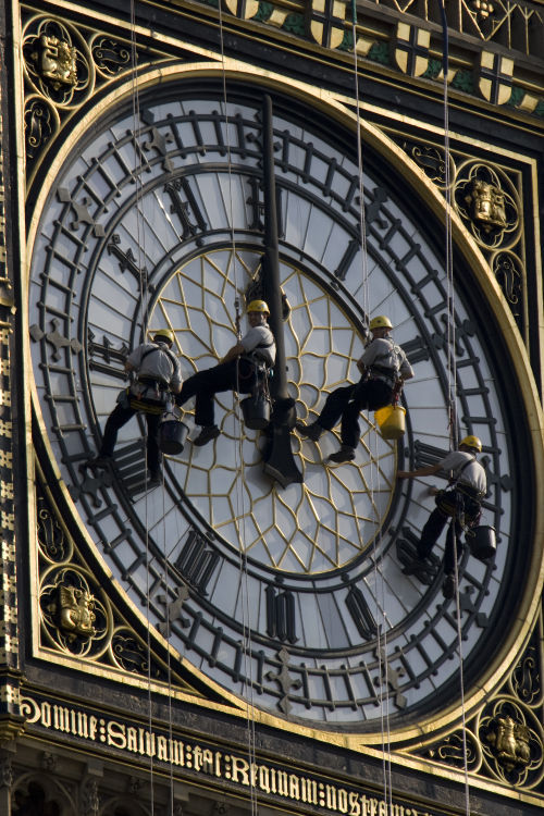 Stopping Time, Big Ben, London
