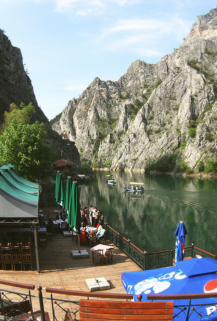 Matka Canyon, one of the most popular outdoor destinations in Macedonia