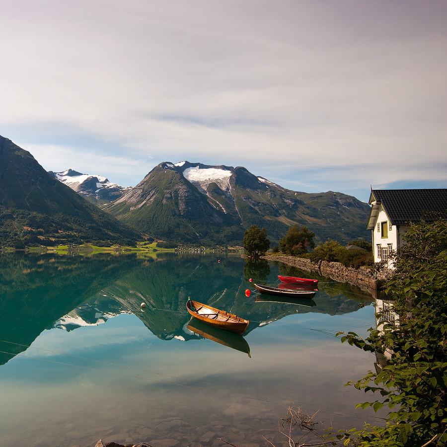 Oppstrynsvatn, Norway