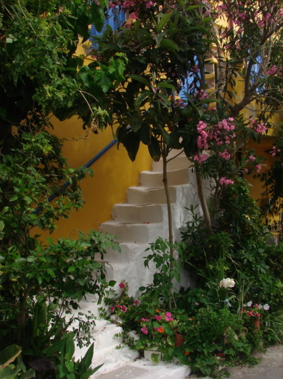 Another cretan staircase, Palaiochora, Greece