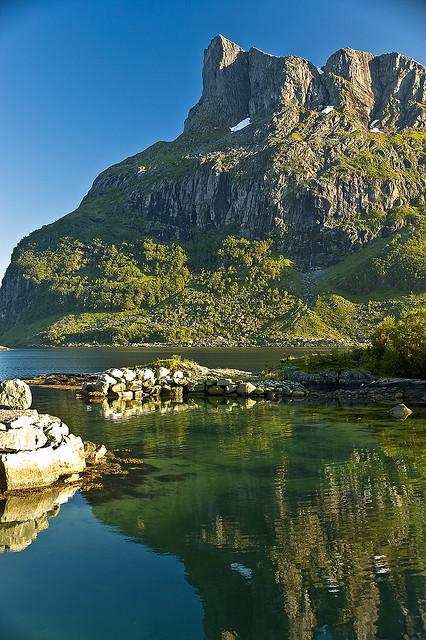 Hornelen, the highest sea cliff in Europe, Sogn og Fjordane county, Norway