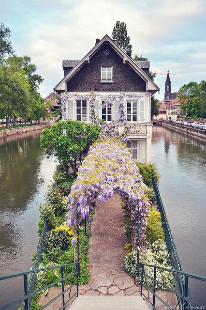 Idyllic house in La Petite France, Strasbourg