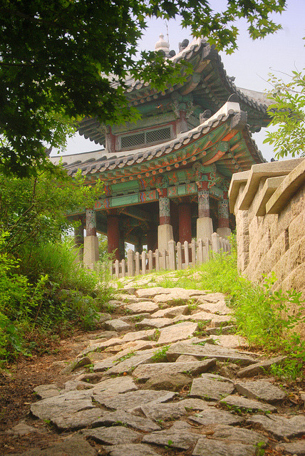 Dong Jangdae in Bukhansan National Park, South Korea