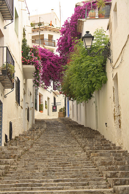 Picturesque alleys of Altea, Comunidad Valenciana / Spain