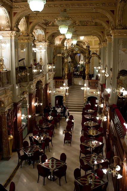 New York Cafe in Budapest / Hungary