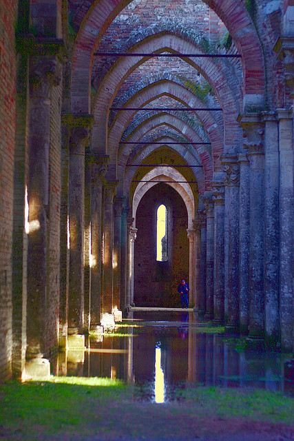After the rain, Abbey of San Galgano / Italy