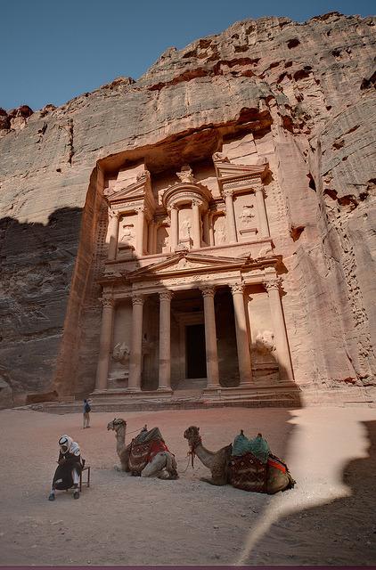 Al-Khazneh, The treasury of Petra / Jordan