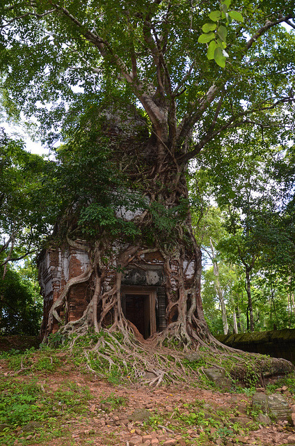 Koh Ker, a remote archaeological site in northern Cambodia