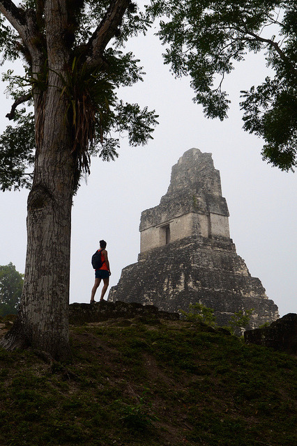 In search of the mayans, Tikal / Guatemala